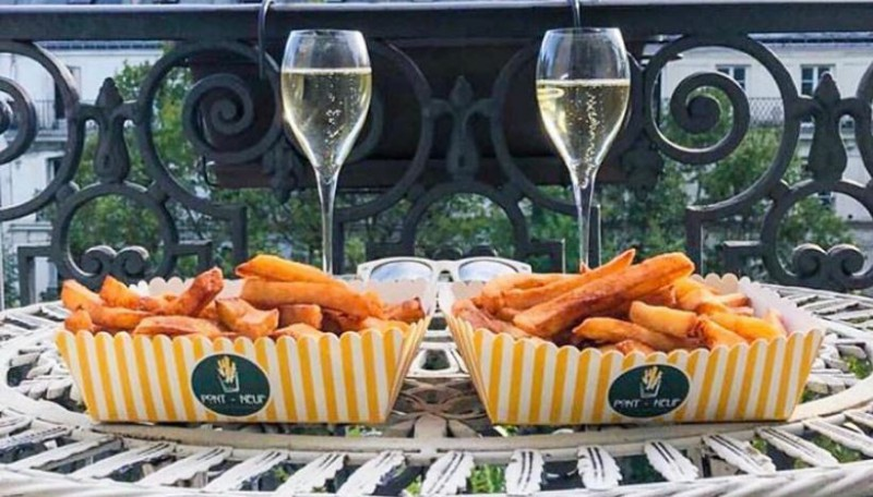 L'accord parfait : Frites & Champagne